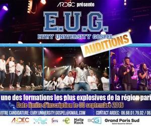 Evry University Gospel / Evry Gospel Choir c'est la rentrée!